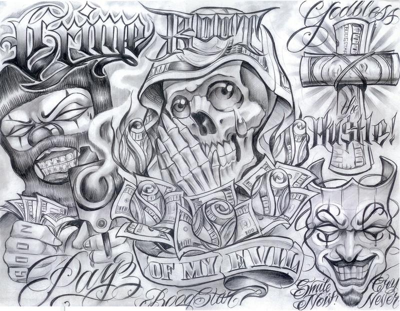 Chicano Art Tattoos1