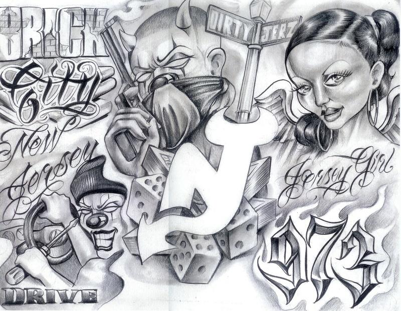 Chicano Flash Art Tattoo1