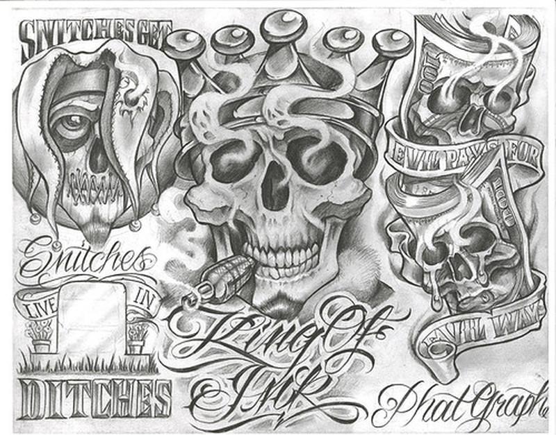 Chicano Tattoo Art Gallery1 Tattoos Book 65000 Tattoos