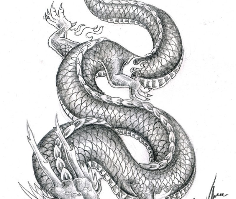 Chinese Dragon Tattoo Designs1