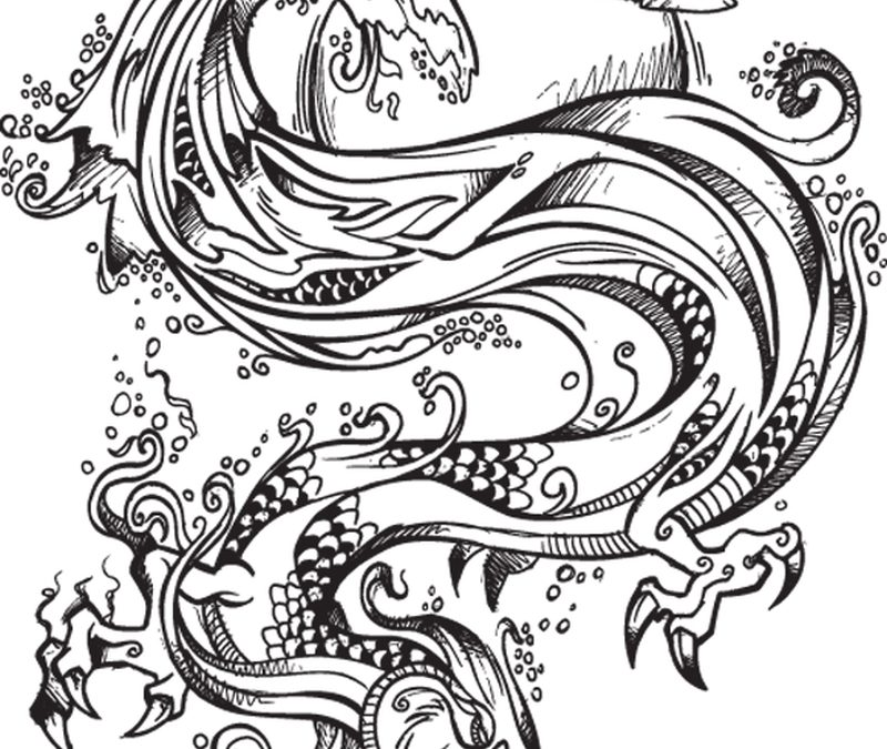 Chinese Dragon Tattoos Gallery