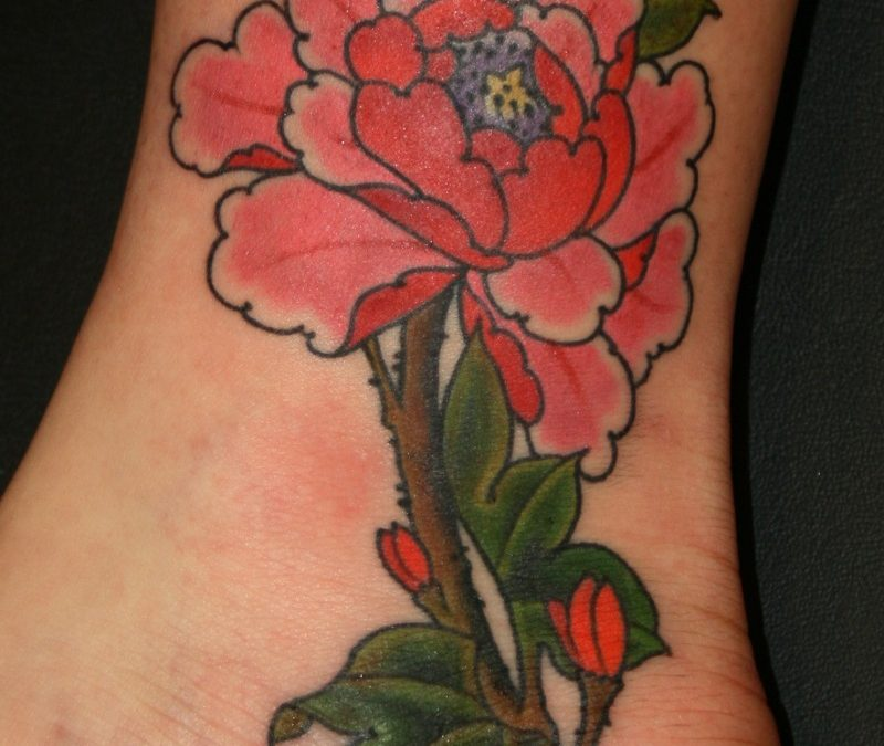 Chinese Flower Tattoos Meanings