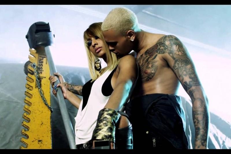 Chris Brown Tattoo Of Girlfriend1