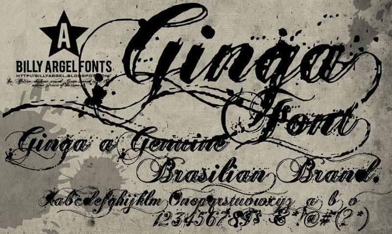 Classic Tattoo Font Download