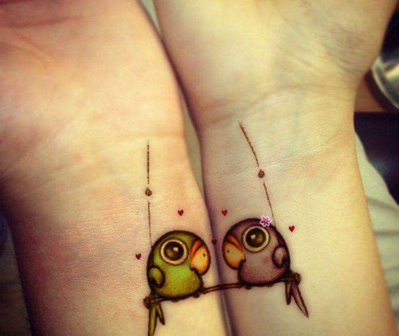 Cool Matching Tattoos