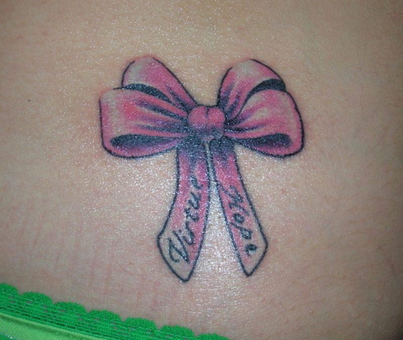 Cute Bow Tattoos