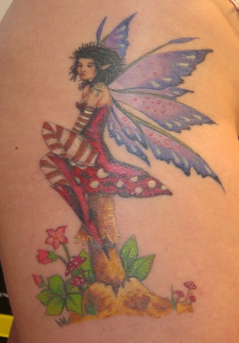 Cute Fairy Tattoos For Women