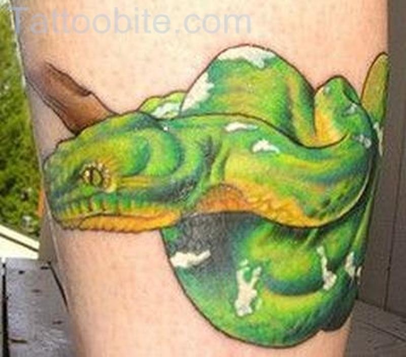 Dangerous Snake Tattoo