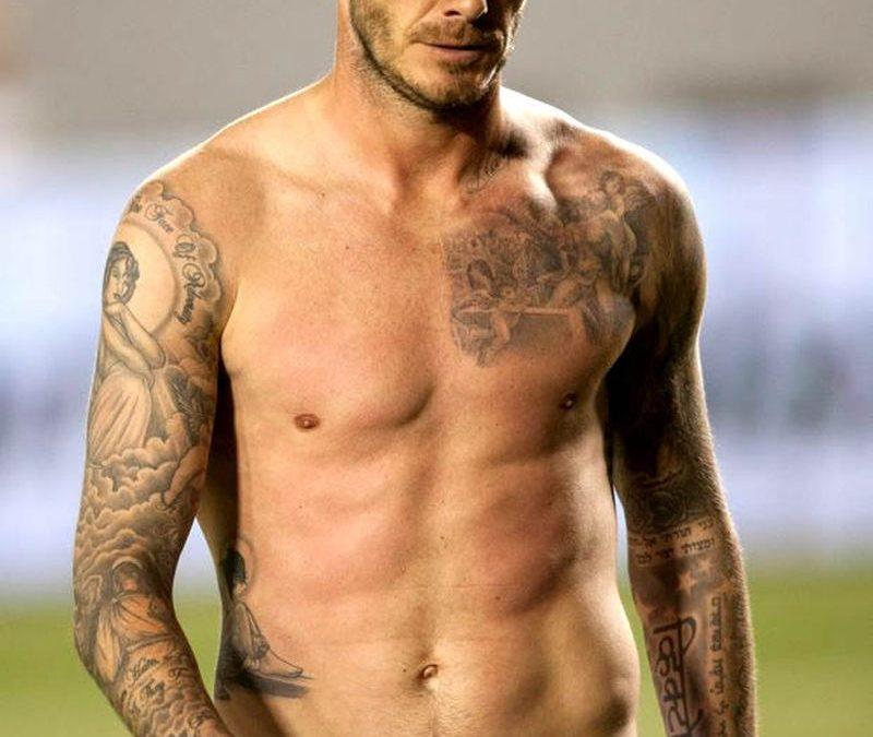 David Beckham S Tattoos