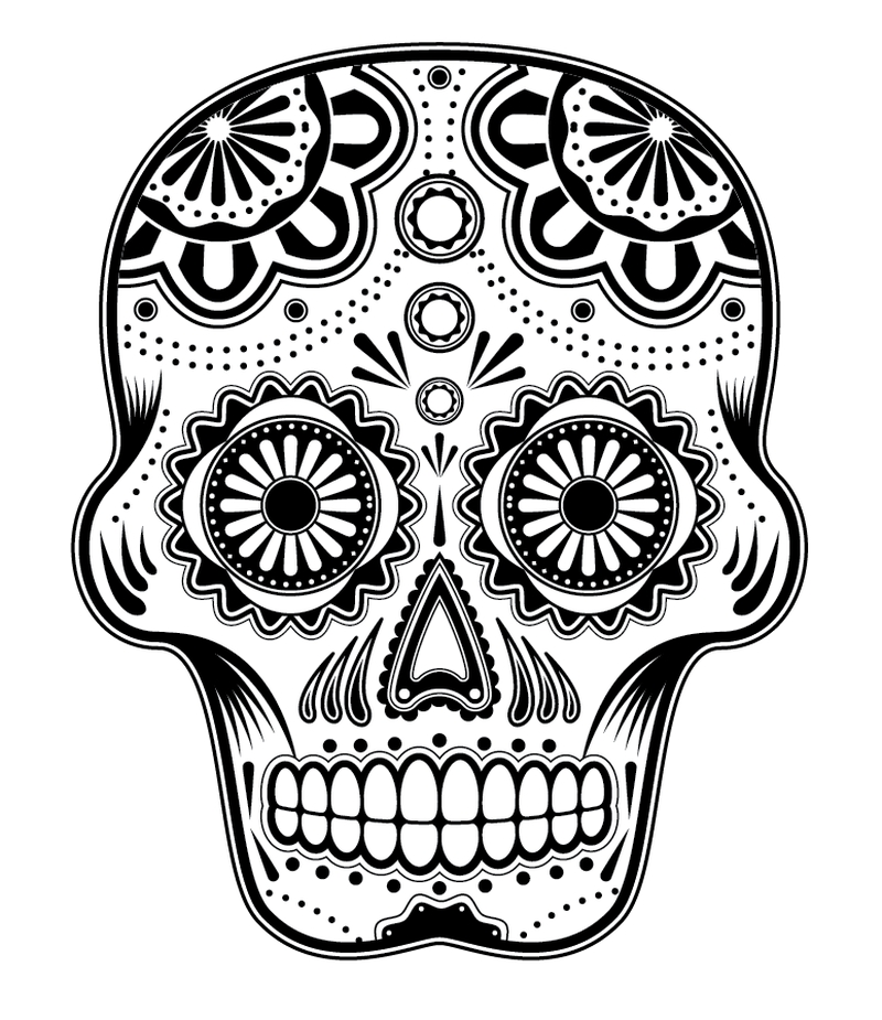 Day Of The Dead Patterns tattoo