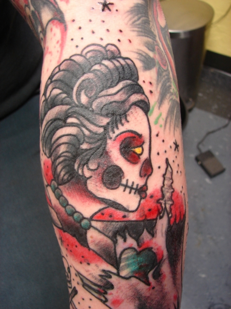 Dead Girl Tattoo