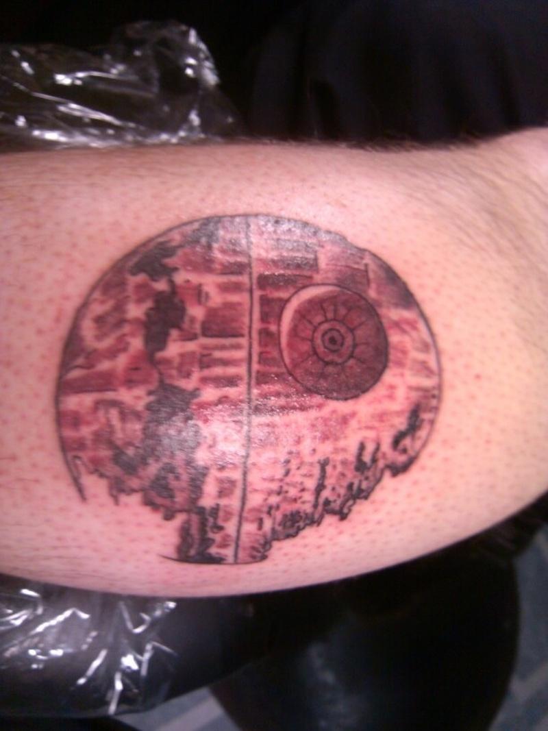 Death Star Tattoo