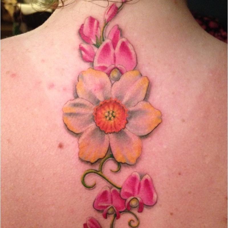 december birth flower tattoos tattoos book tattoos designs. Black Bedroom Furniture Sets. Home Design Ideas