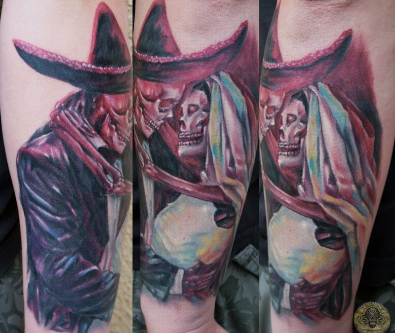 Dia De Los Muertos Art Tattoos