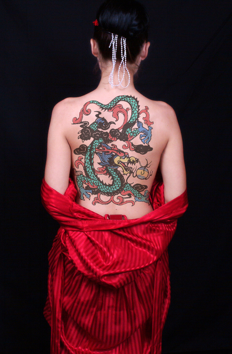 Dragon Tattoos On Back Of Neck Tattoos Book 65000