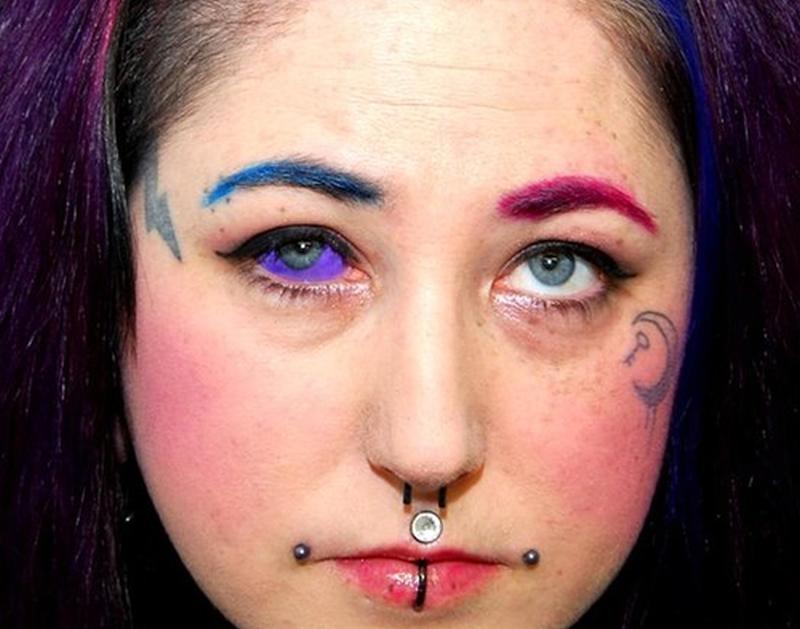 Eye Ball Tattoo