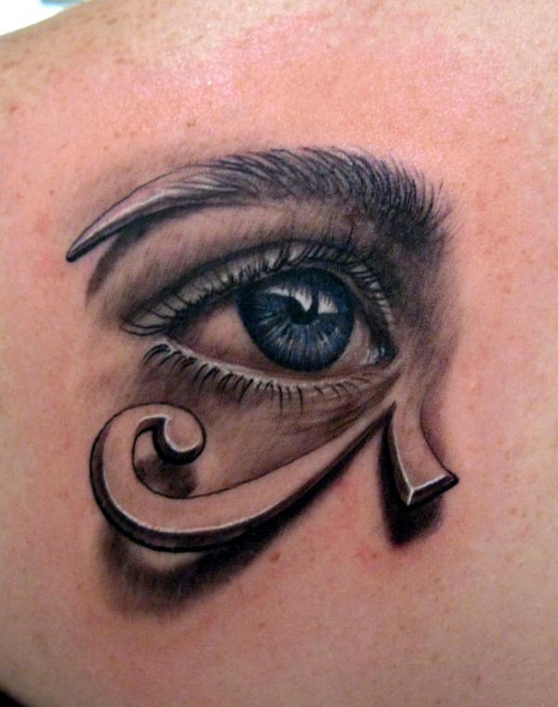 Eye Of The Lotus Tattoos