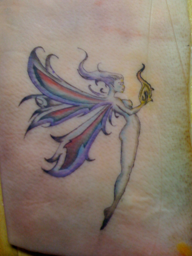 Fairy And Pixie Tattoos