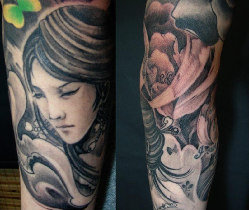 Female Sleeve Tattoos Ideas