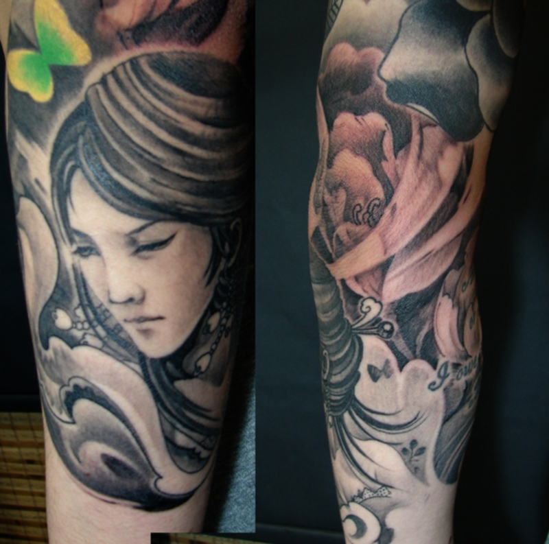 Female Sleeve Tattoos Ideas