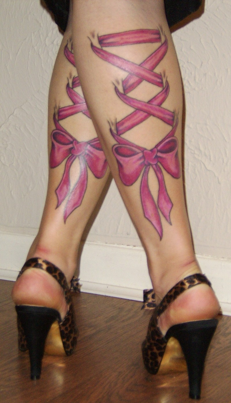 Female Thigh Tattoos
