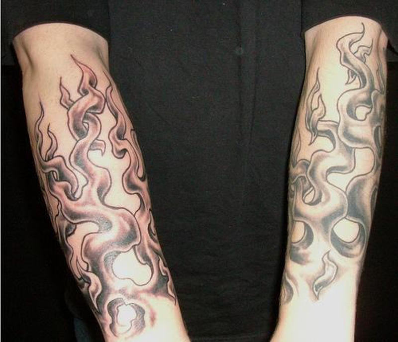 flame tattoos on arm tattoos book tattoos designs. Black Bedroom Furniture Sets. Home Design Ideas