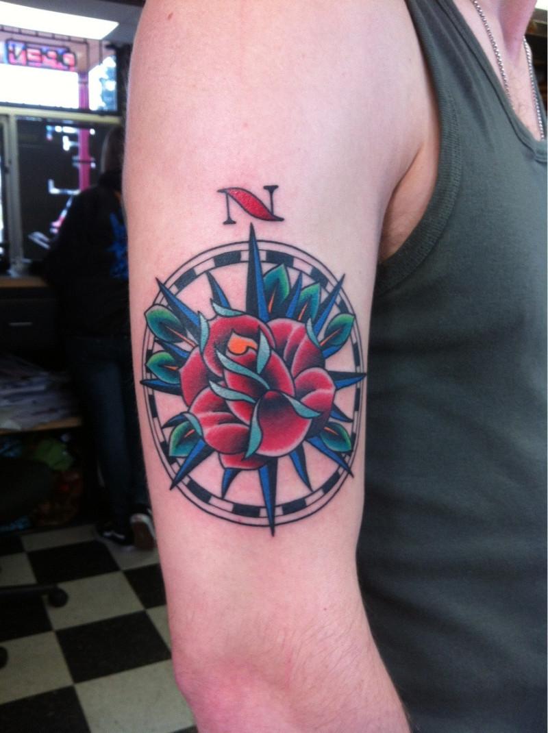 Flaming Dragon Tattoo Tacoma Wa
