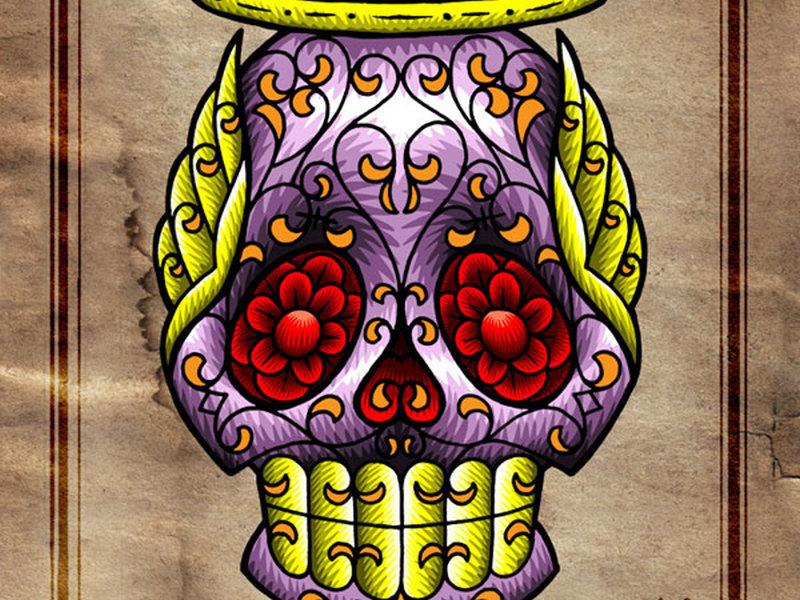 Flash Art Tattoo Sugar Skull