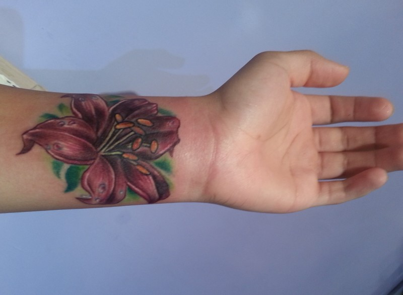 cf6220248 Flower Cover Up Tattoos On Wrist - Tattoos Book - 65.000 Tattoos Designs