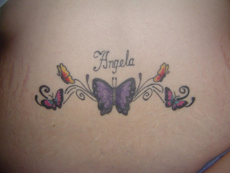 Free Pictures Of Lower Back Tattoos For Women