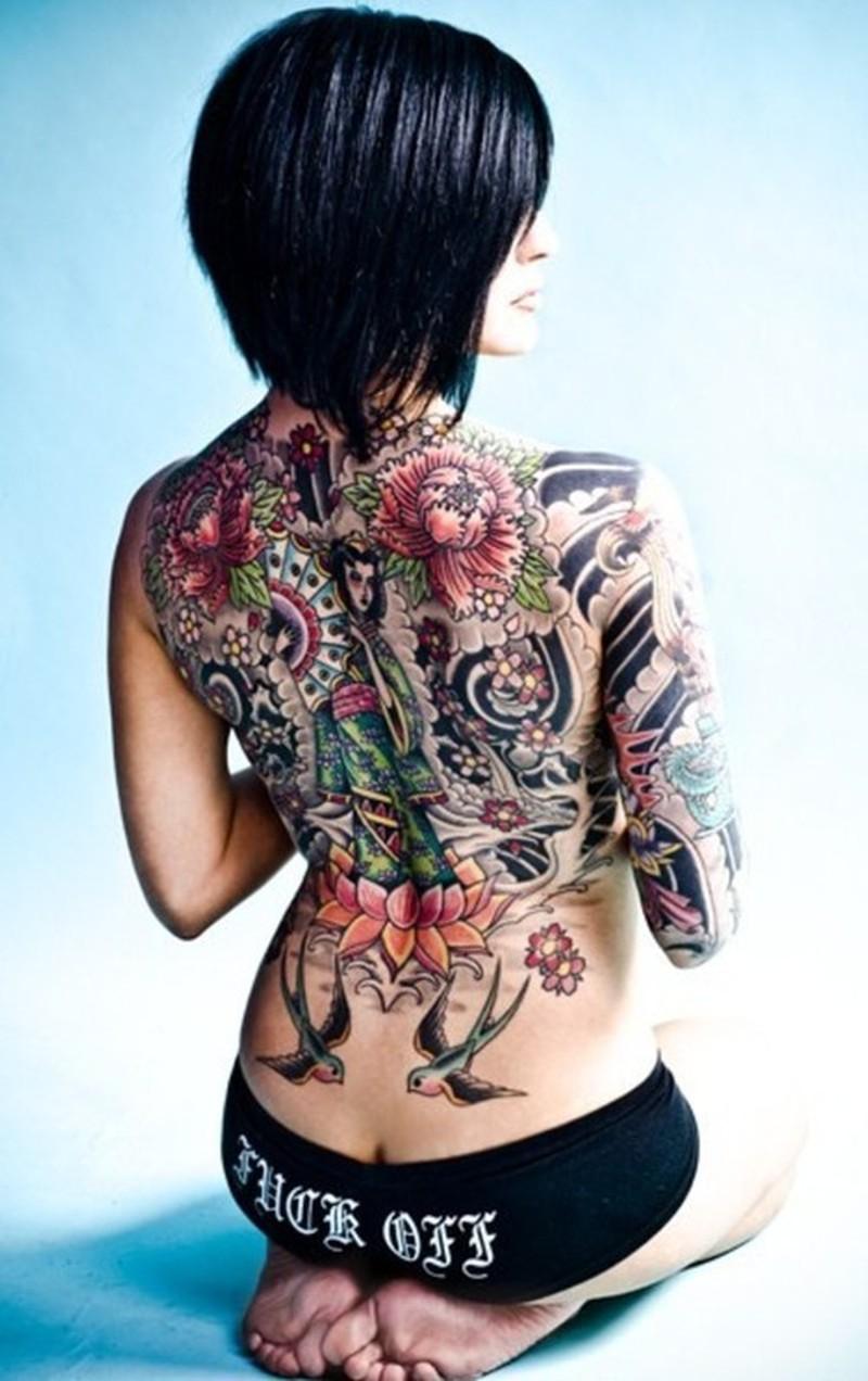 Full Body Tattoos On Women