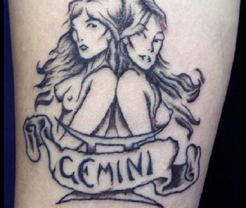 Gemini Zodiac Tattoos For Men