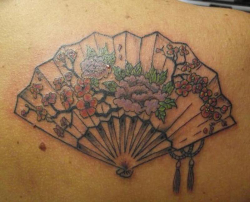 japanese fan designs tattoo tattoos book tattoos designs. Black Bedroom Furniture Sets. Home Design Ideas