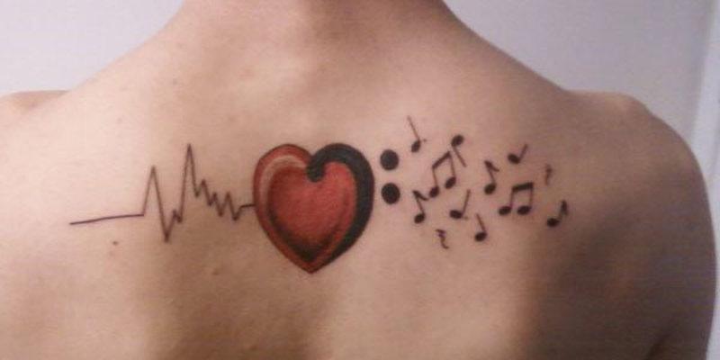 Love Of Music Tattoos