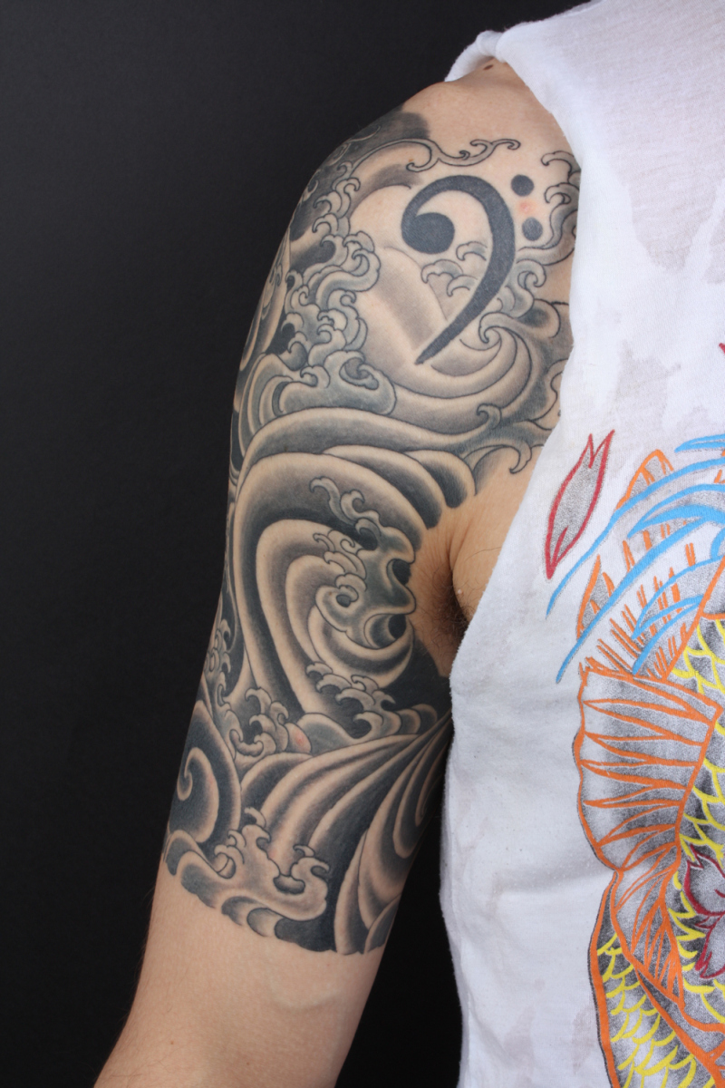 Men Half Sleeve Tattoos