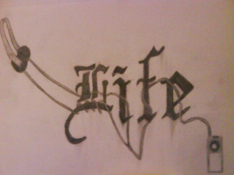 Music Is Life Tattoos Designs