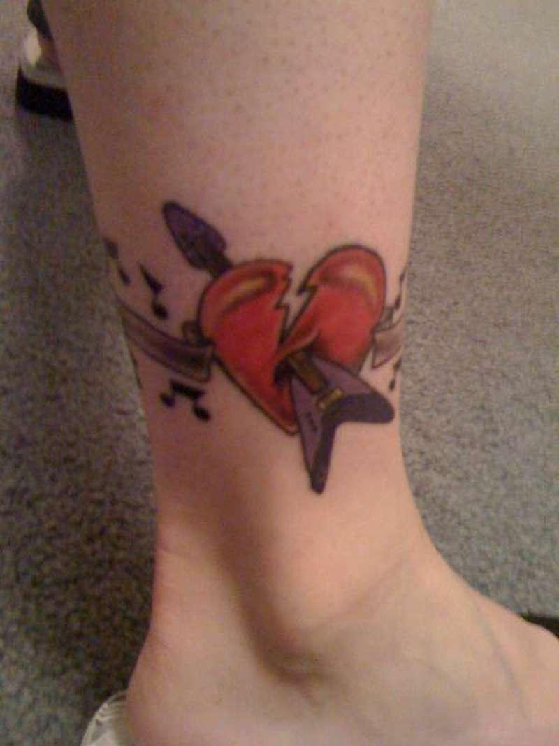 Music Notes Symbols Tattoos