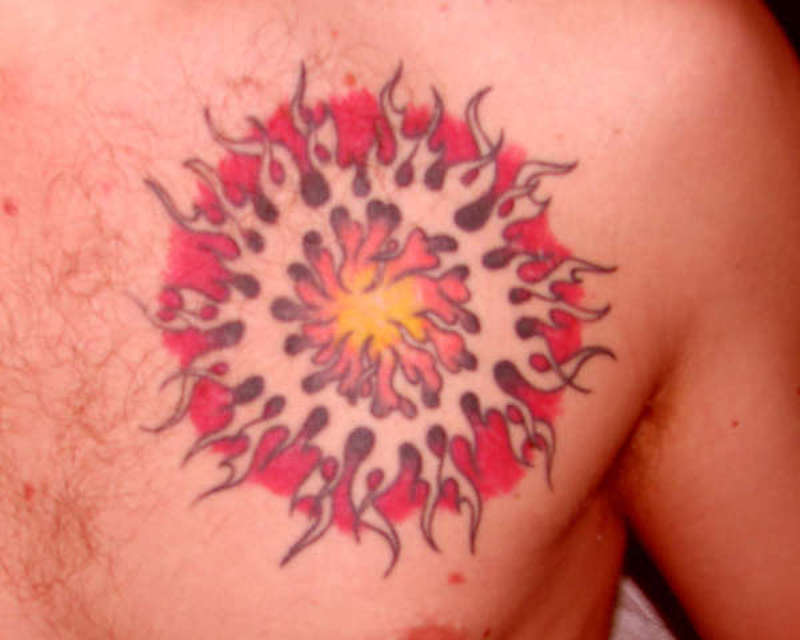Ring Of Fire tattoo