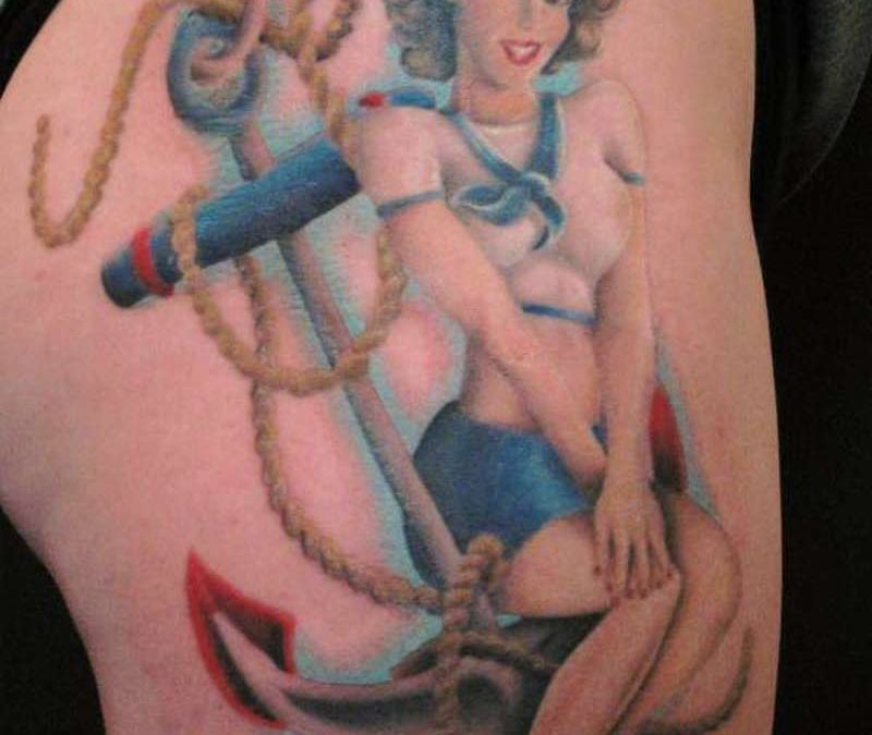 Sailor Pin Up Tattoos6