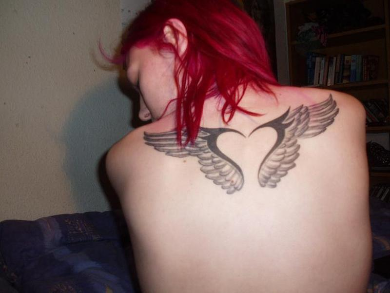 Sexy Angel Wing Tattoos