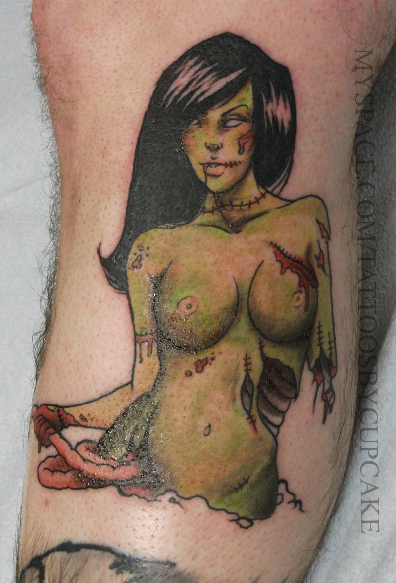 Sexy Pin Up Girl Tattoos