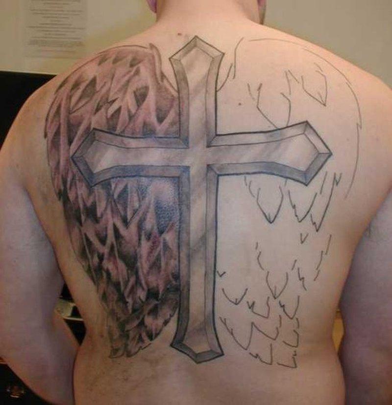 shoulder cross tattoos for men tattoos book 65000