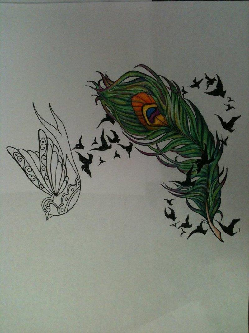 single feather tattoos designs tattoos book tattoos designs. Black Bedroom Furniture Sets. Home Design Ideas