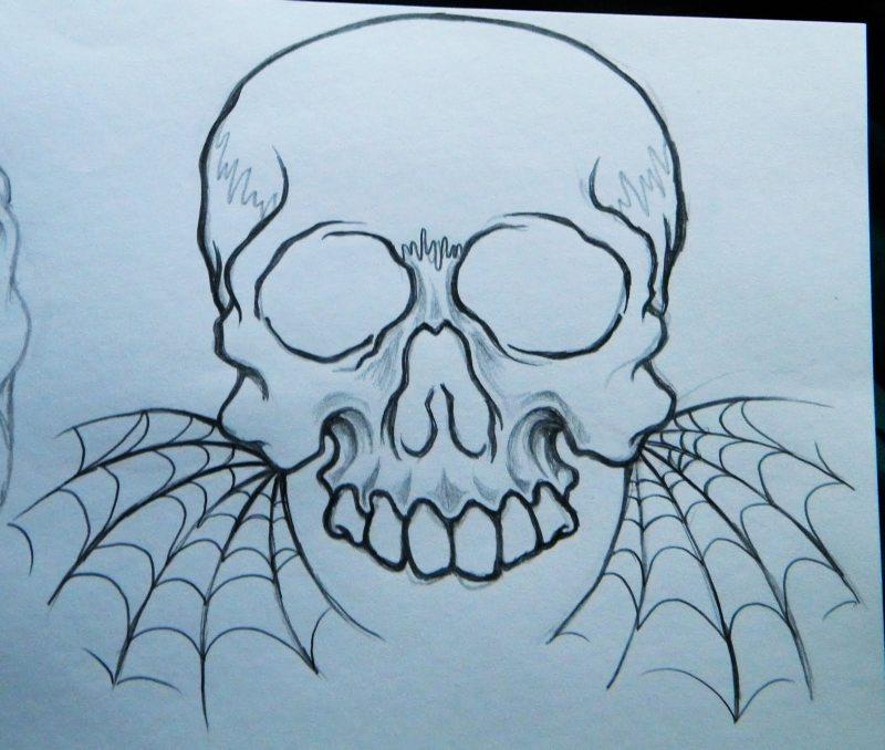 Skull Flash Art Tattoos