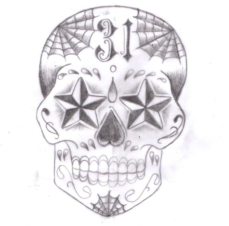 Sugar Skull Designs Tattoos Tattoos Book 65 000 Tattoos Designs