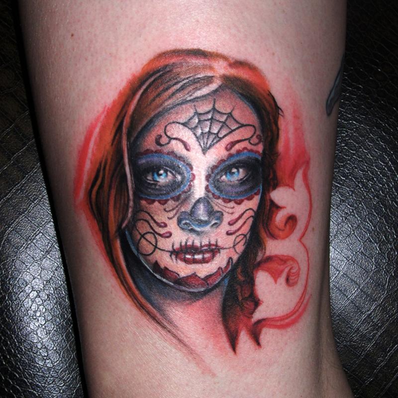 Sugar Skull Tattoos Women Tattoos Book 65 000 Tattoos Designs