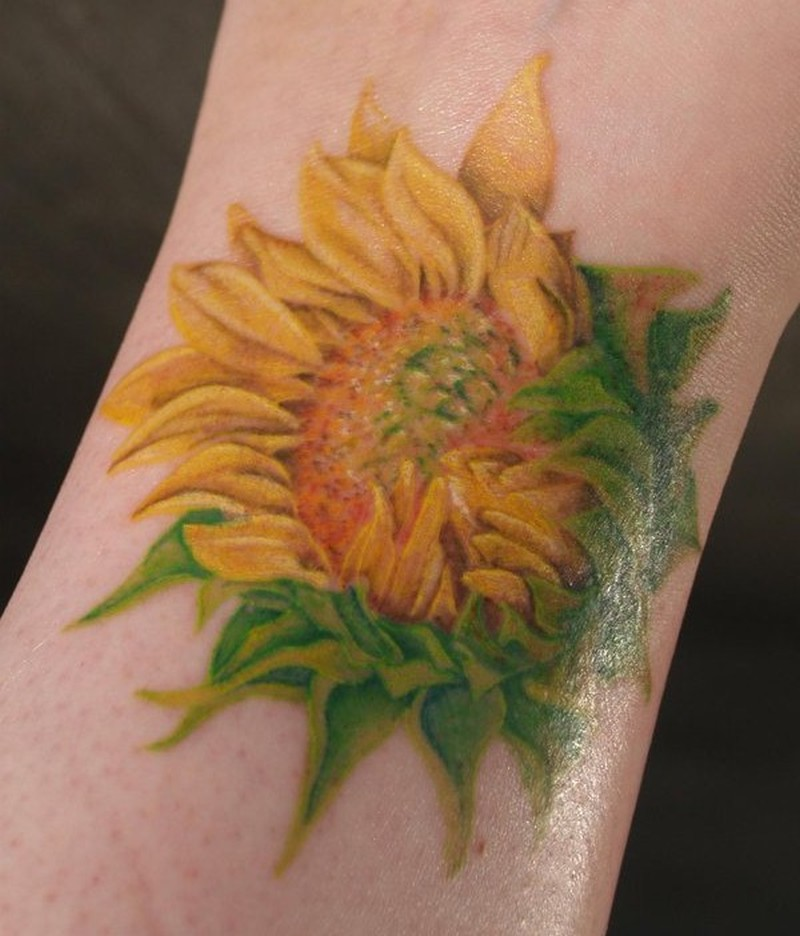Sunflower Pics For Tattoos