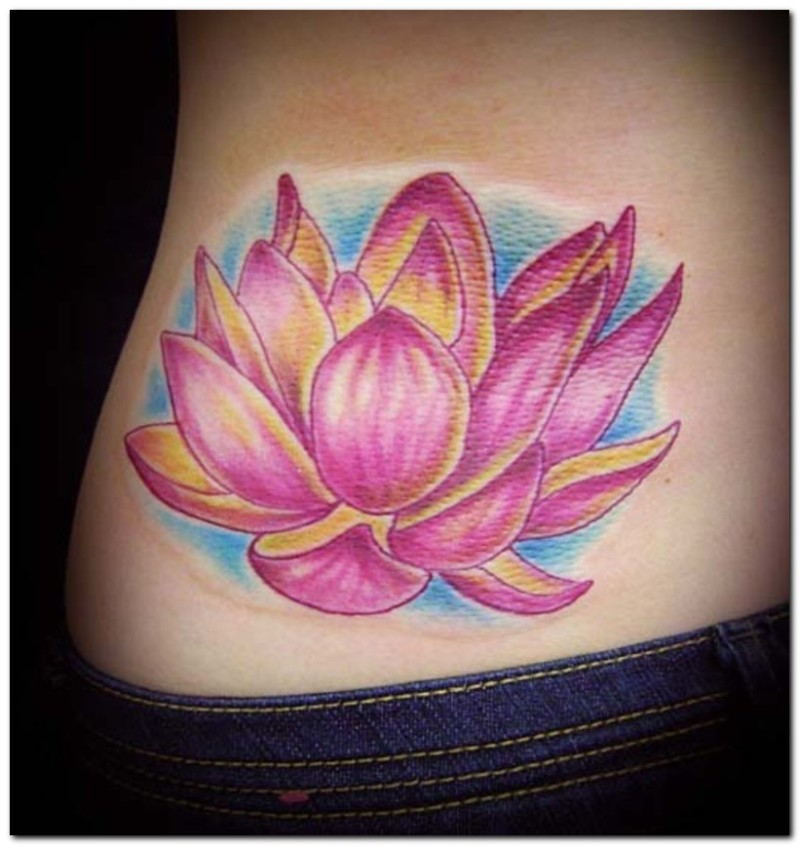 Tattoos Lotus Flower Pictures Gallery Tattoos Book 65000