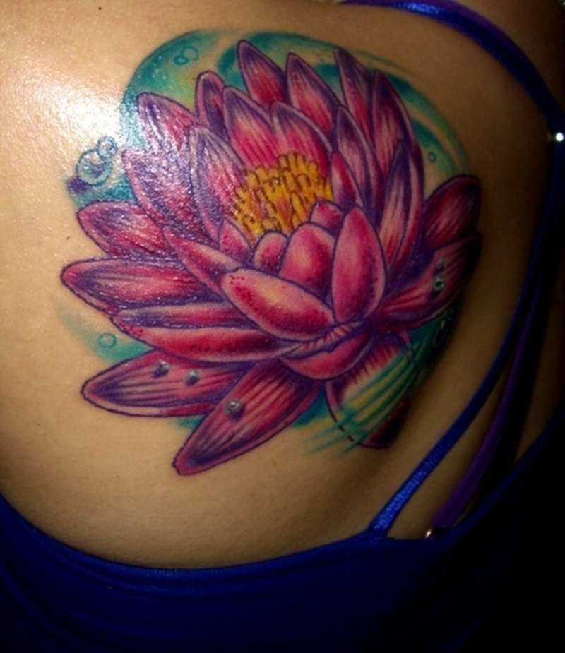 Tattoos Lotus Flower Pictures Gallery1