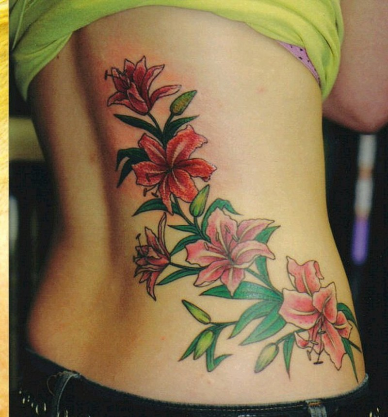 Tattoos Of A Flower1